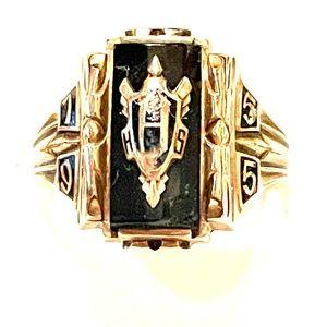 Vintage 10k Class Ring Sz 10